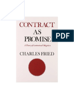 Charles Fried - Contract as Promise