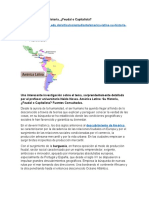América Latina Su Historia Feudal o Capitalista