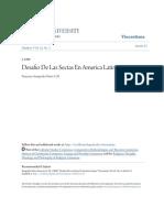 Desafio de Las Sectas en America Latina