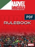 Marvel Miniatures Rules