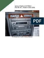 Symphony II Radio to A4_RNS-E