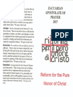 Zaccarian Apostolate of Prayer 2017