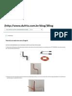 Tutorial Curvador de Canos Dugold - Dufrio