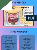 HIPERTIROID patofisiologi