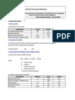 Mc-01.. Parametros de Diseño - Agua Potable