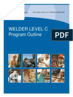 Welder Level C Program Outline