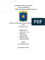 Artículo de Investigacion Estabilidad de Taludes en Presas de Relaves
