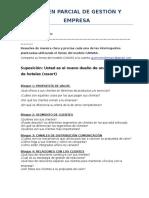 Examen Parcial de Gestión y Empresa