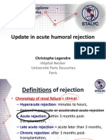 Christophe Legendre - Update in acute humoral rejection 2014