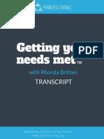 Getting your needs meet Rhonda Britten Final[1]