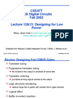 Lecture12&13 Logic Power