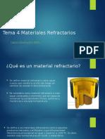 Tema 4 Materiales Refractarios