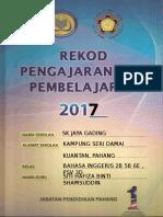 Divider Buku Rekod Pengajaran Dan Pembelajaran 2017 v1.0
