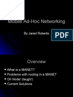 Mobile Ad-Hoc Networking