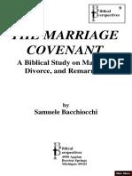 The Marriage Covenant - Bacchiocchi.pdf