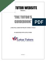 The Tutor's Guidebook