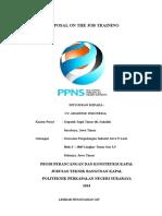 Proposal OJT CV. Javanese Indonesia