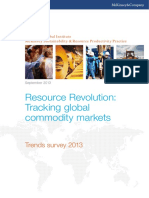 MGI Resource Revolution Commodity Markets Executive Summary Sep2013