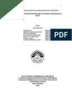 Laporan Praktikum Dinamika Ekosistem Perairan Kelompok 5 Satu 10.00 Wib