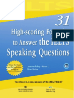 31 High-scoring Formulas to Answer the IELTS Speaking Question - Học IELTS