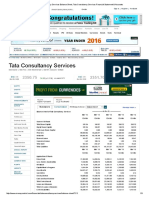 Tata Consultancy Services Balance Sheet, Tata Consultancy Services Financial Statement & Accounts
