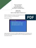 Measure and Integration Mod01 Lec 02