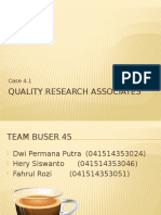 Quality Research Associates
