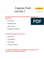STR 581 Capstone Final Examination Part 2 UOP at Studentwhiz