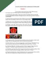 Terbongkarnya Status Jokowi Pki Oleh Badan Intelijen