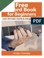 Andy Guitar Chord Book