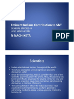 NBNMH Eminent Indians Contribution to S&T