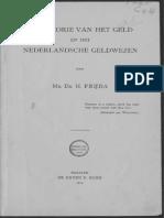 De theorie van het geld en het Nederlandsche geldwezen / door H. Frijda