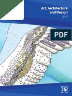 Art Architecture and Design Brochure