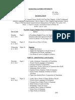BA, B_Sc_ B Com (Model I) Part I & II timetable Nov_ 2015.doc