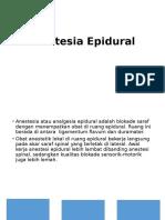 Anestesi Epidural (Farida)
