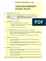 HWC Dragon Rampant House Rules v4