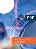 Gs1 Bar Code Verification