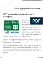 GST Examples
