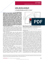 A Red Metallic Oxide Photocatalyst
