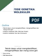 14.Metode Genetika Molekuler