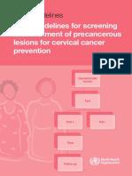 WHO GUIDELINE CERVICAL CANCER.pdf