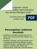 Pencegahan untuk menoptimalkan pertumbuhan dan perkembangan anak.pptx