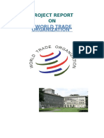 Report on World Trade Organization
