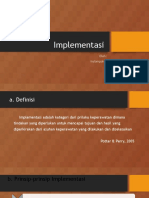 5. Implementasi