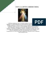 Consagración a La Divina Misericordia