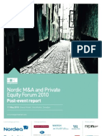 Nordic M&A and Private Equity Forum post-event report