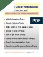 Apresentação Sobre Projetos - Modelo Skopos