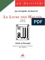 'Abd Al-Qâdir al-Jazâ'irî, Livre Des Haltes Tome 2 - trad. Max Giraud