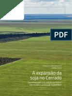 A Expansão Da Soja No Cerrado Agroicone INPUT