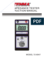 Analog Impedance Meter